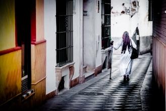 Mujer, Sevilla