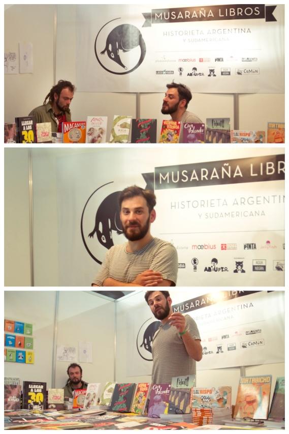 Musaraña Libros Saló del Comic Barcelona 2013